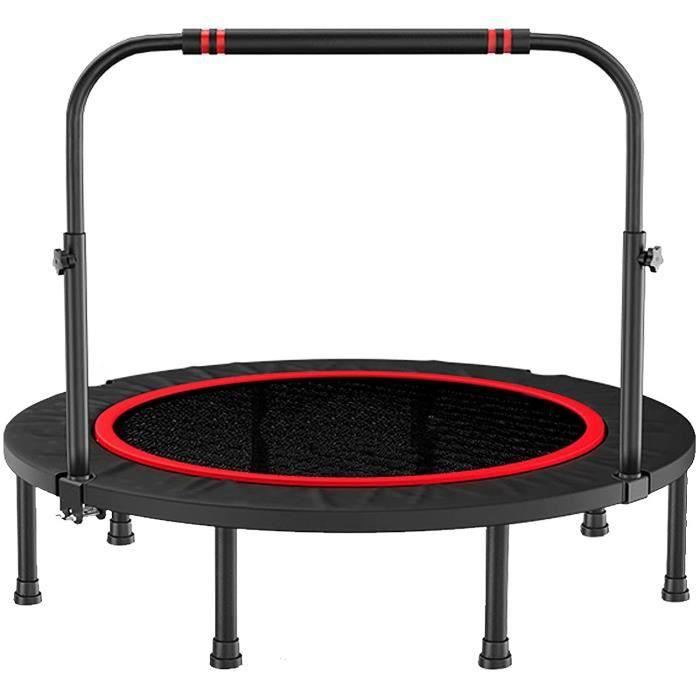 Rebondeur de fitness portable de 40 48 charge maximale 300 kg trampoline de fitness pliable avec main courante Adultes Enfant[258]