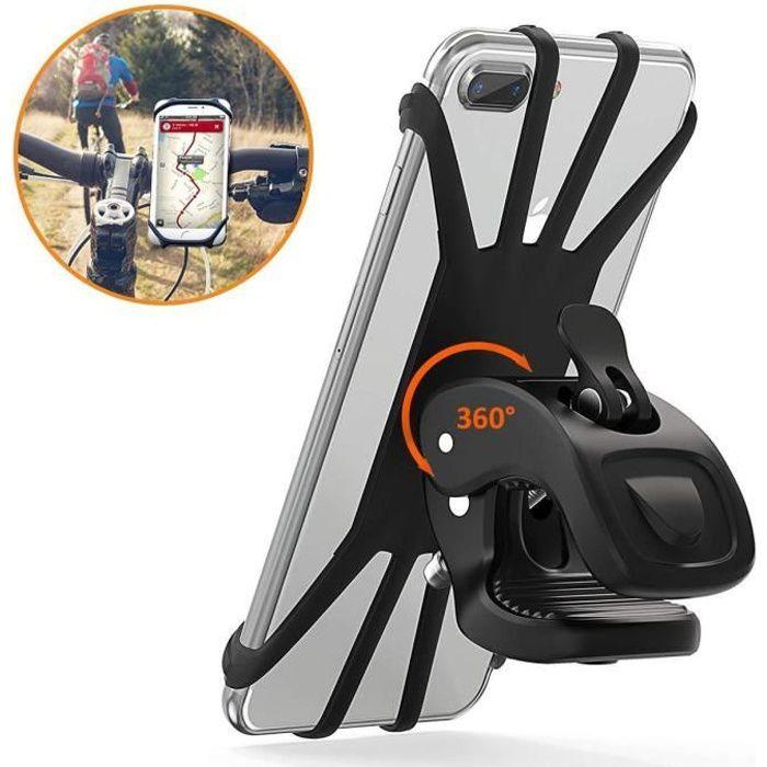 Cocoda Support Téléphone Vélo, Support Moto de Guidon Universel Rotatif à 360 De