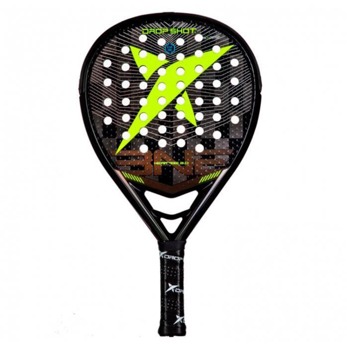 Drop Shot - Heritage 2.0 2021 Raquette de padel, raquette de padel, raquette Advanced Pro Carbon Jaune
