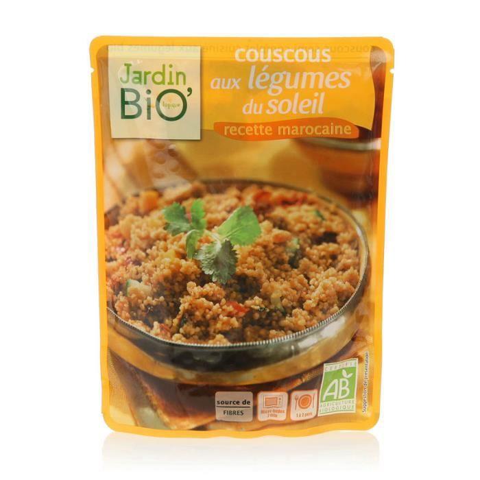 JARDIN BIO Couscous aux légumes du soleil bio - 220g