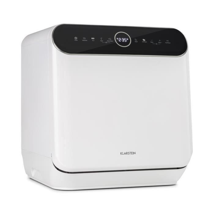 Klarstein Oceana lave-vaisselle indépendant sans installation 860w - blanc