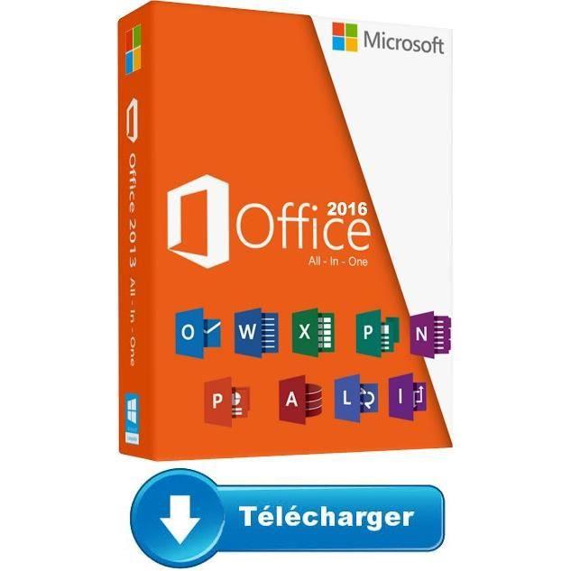 Microsoft Office 2016 Pro Plus pour Pc version a télécharger