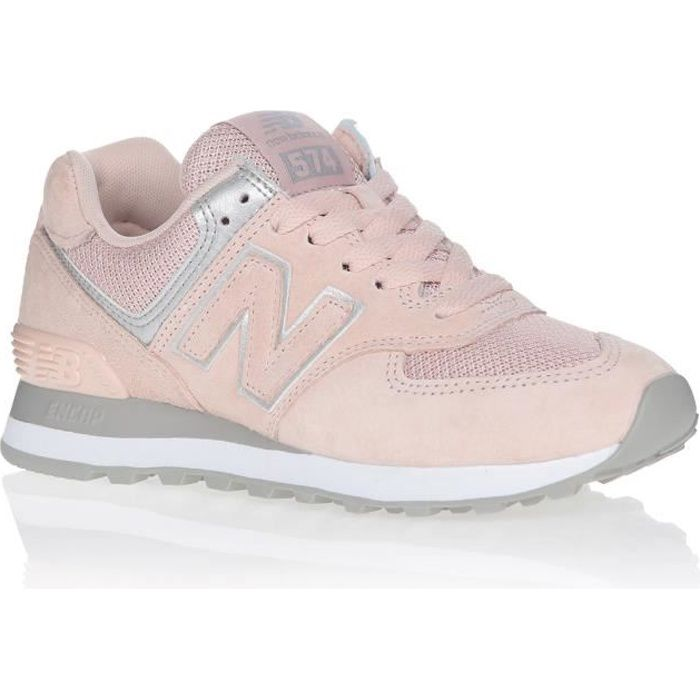 NEW BALANCE Baskets WL574EQ Rose clair Femme
