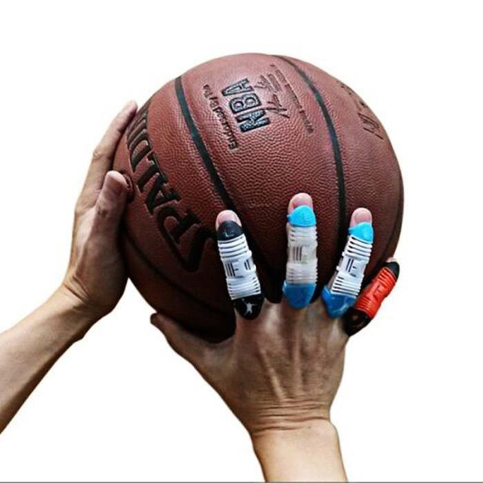 2 pièces manchon de doigt respirant confortable manchons de protecteur de pour volleyball MANCHON DE COMPRESSION BRAS