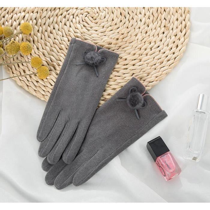 gris Des gants