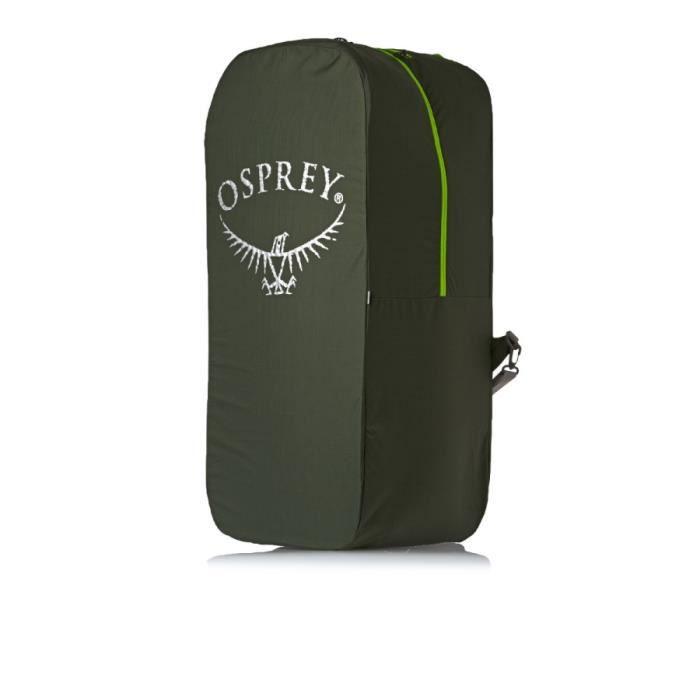 Housse protection Airporter Osprey taille M pour transport des sac à dos de 45 à 75 litres, coloris vert