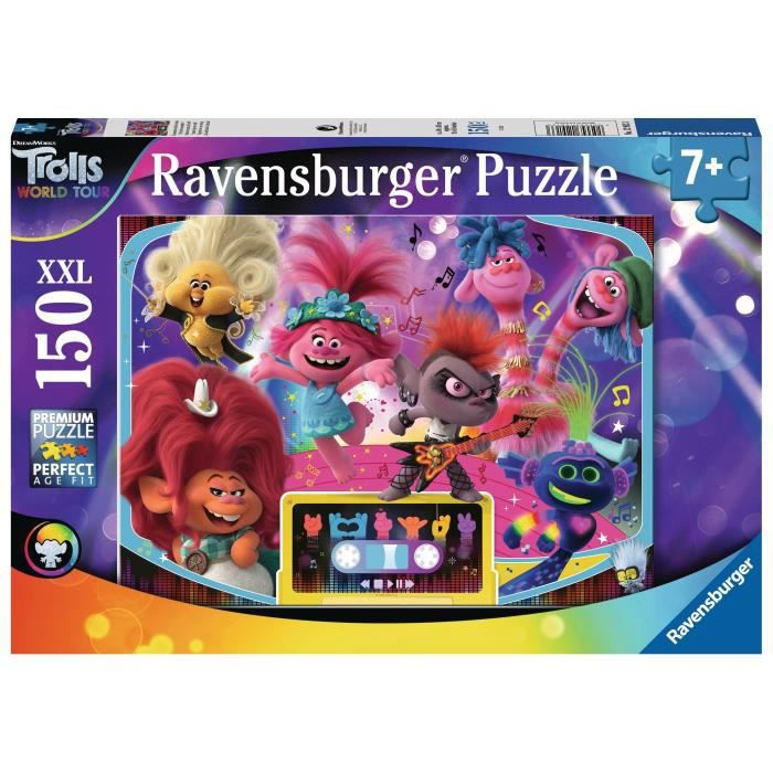 Puzzle 150 p XXL - Plus forts ensemble ! / Trolls 2