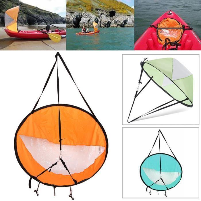 ROKOO Voile de Kayak portable Sous le Vent du Vent Paddle pour Bateau Gonflable