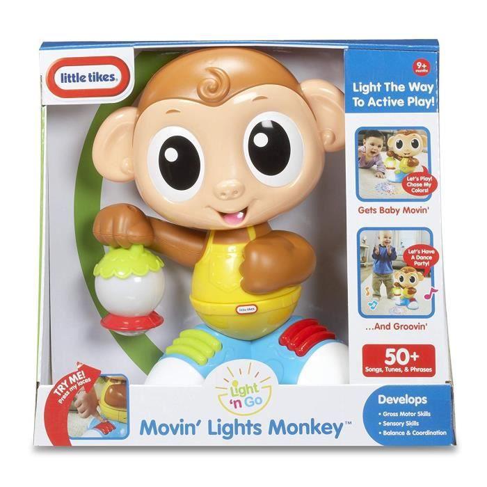 SPLASH TOYS Moving Light Monkey - Singe Danseur