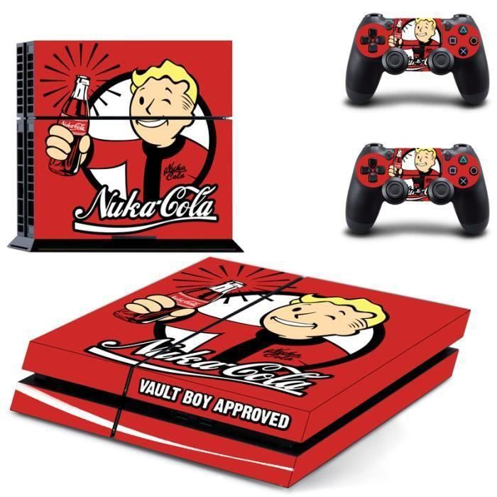STICKER - SKIN CONSOLE Aihontai Fallout Vault Boy Skin Sticker Decal Auto