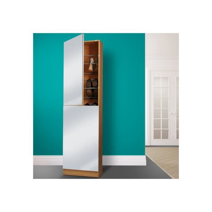 Meuble chaussures avec miroir nobody h tre pictures to - Armoire a chaussure miroir ...