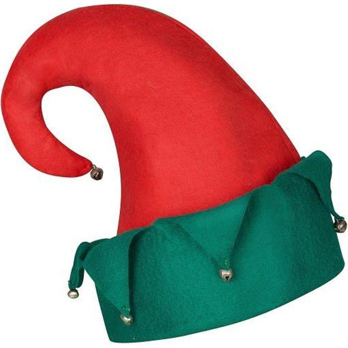 Noël Mini Elf Chapeau Serre-tête rouge vert cloches accessoires costume robe fantaisie UK