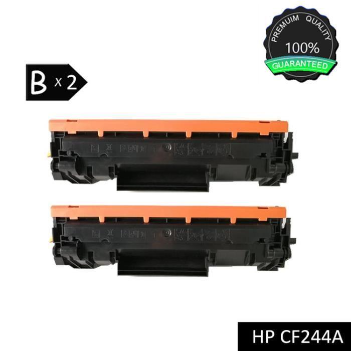 MyCartridge 2 Pack Cartouches de Toner Compatibles HP CF244A 44A pour HP Pro M15a M15w M17a M17w MFP M28a MFP M28w MFP M30a MFP M30w Noir