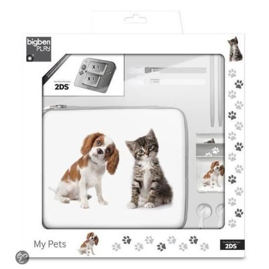 pack bigben essential animals 2ds achat vente housse
