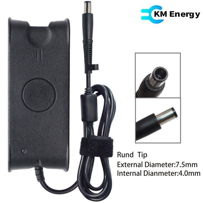 Chargeur adaptable pour pc portable portable Dell Latitude 15 5580 19 5V -  3 34A
