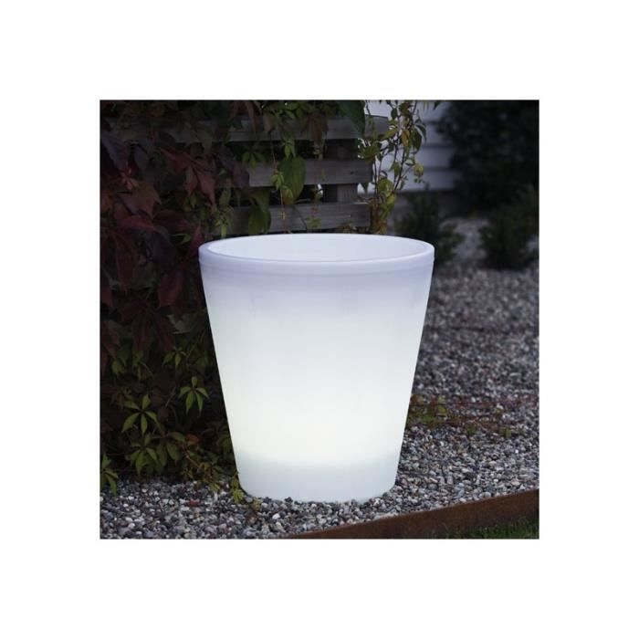 Grand pot lumineux design par nature achat vente grand for Pot de jardin lumineux