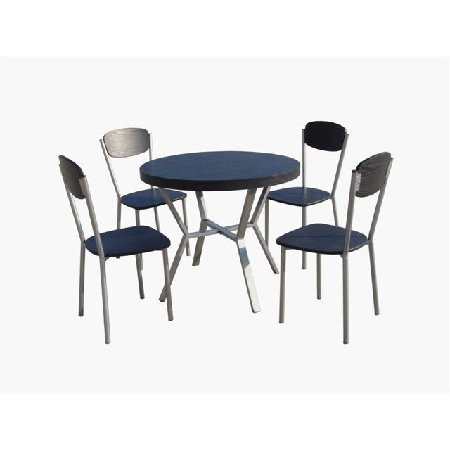 table de cuisine et 4 chaises tournai achat vente table de cuisine table de cuisine et 4. Black Bedroom Furniture Sets. Home Design Ideas