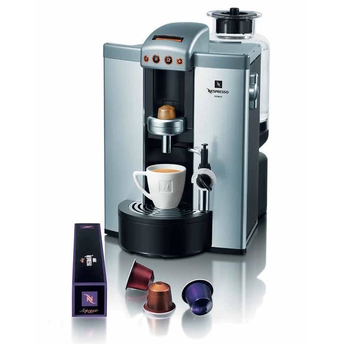 machine expresso automatique nespresso romeo achat. Black Bedroom Furniture Sets. Home Design Ideas
