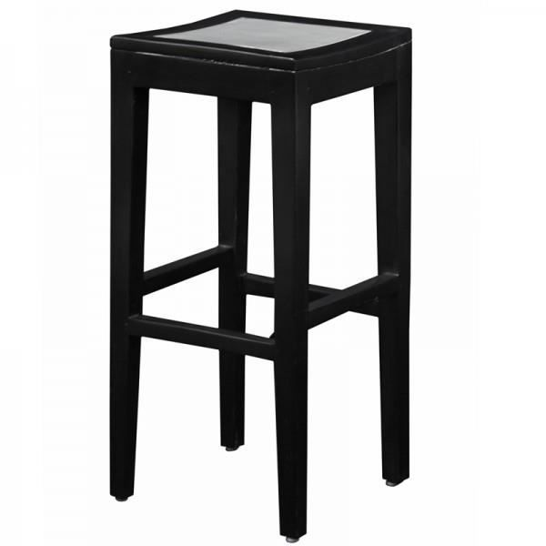 tabouret bar bois m tal achat vente tabouret de bar bois m tal aluminium cdiscount. Black Bedroom Furniture Sets. Home Design Ideas