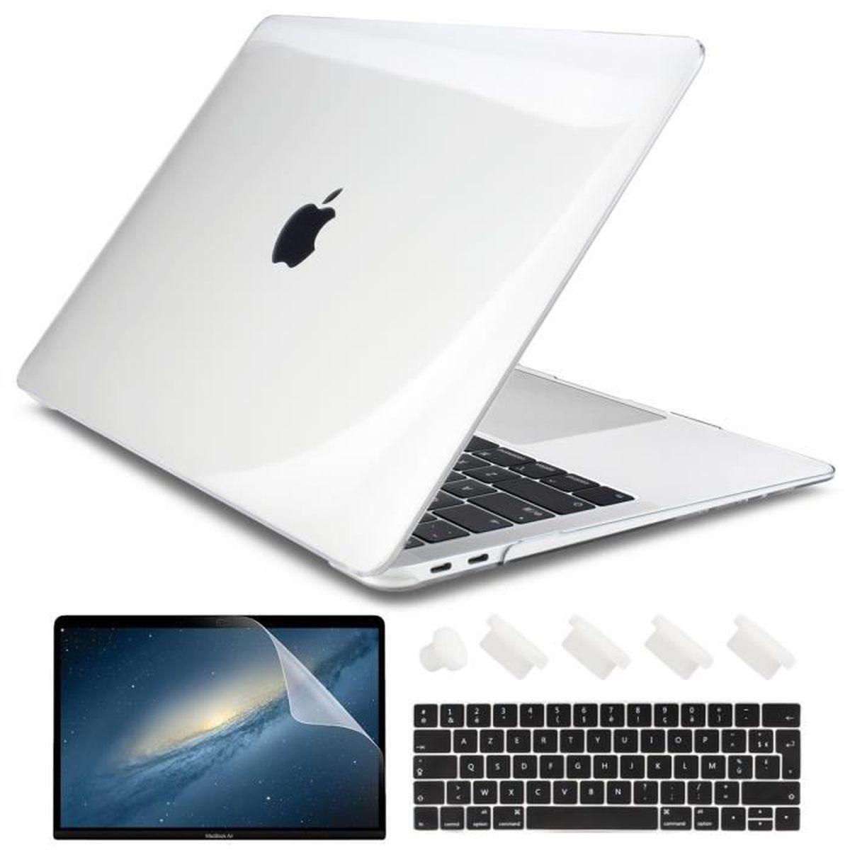 Plastique Coque Rigide/&Protection Clavier/&Essuyer Chiffon Gel MOSISO Coque Compatible avec MacBook Pro 13 Pouces 2020 2019 2018 2017 2016 A2251 A2289 A2159 A1989 A1706 A1708