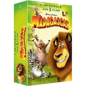 DVD DESSIN ANIMÉ DVD Coffret trilogie Madagascar
