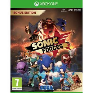 JEU XBOX ONE Sonic Forces Edition Bonus Jeu Xbox One
