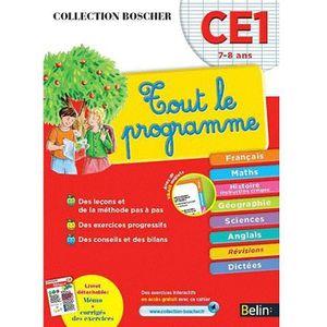 MANUEL PRIMAIRE Boscher Tout le programme CE1