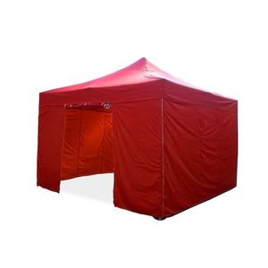 TONNELLE - BARNUM Barnum pliant 4x4m Pack complet Alu 40 polyester 3