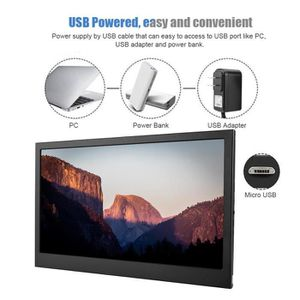 ECRAN ORDINATEUR Ecran PC 2K 13.3 pouces UHD LED LCD Moniteur - Écr