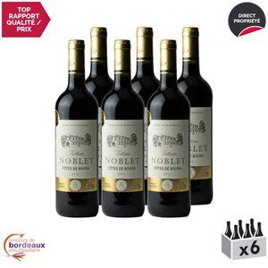 VIN ROUGE Château Noblet Rouge 2014 - Lot de 6x75cl - Appell