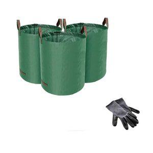 SAC À DÉCHETS VERTS  Accessoires de jardin Grands sacs à déchets de jar