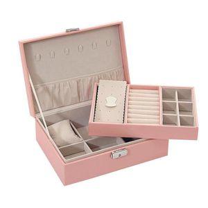 BOITE A BIJOUX Bijoux simples boîte de rangement bijoux organisat