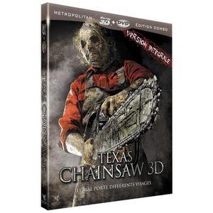 DVD FILM Texas Chainsaw [Blu-ray 3D] [Combo Blu-ray 3D + DV