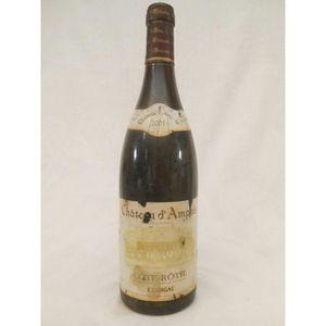 VIN ROUGE côte-rôtie guigal château d'ampuis (étiquette abîm