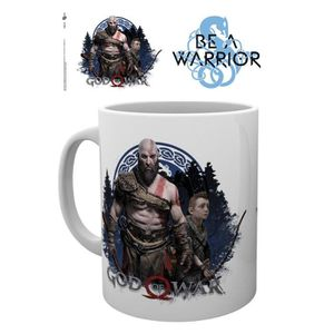 BOL - MUG - MAZAGRAN Mug God Of War - Be a Warrior