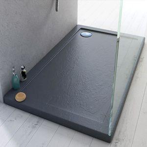 RECEVEUR DE DOUCHE Receveur de douche 70x90x4 cm rectangle acrylique