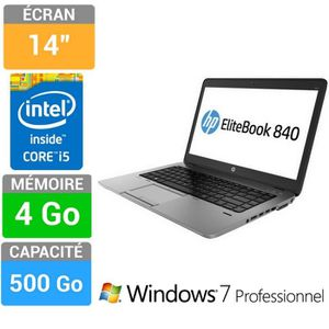 Vente PC Portable HP EliteBook 840 G1 pas cher