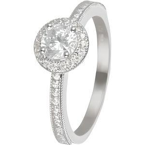 BAGUE - ANNEAU Mes-bijoux.fr - Bague Femme Harmonie Or Blanc 375-