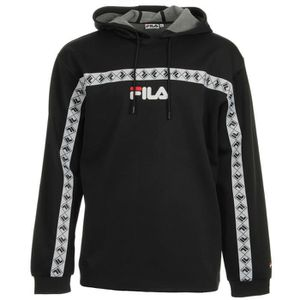 Fila Jaxon Hooded Sweat Noir Noir Achat Vente sweatshirt