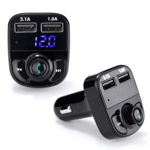 PRISE ALLUME-CIGARE Voiture Bluetooth sans fil Lecteur MP3 transmetteu