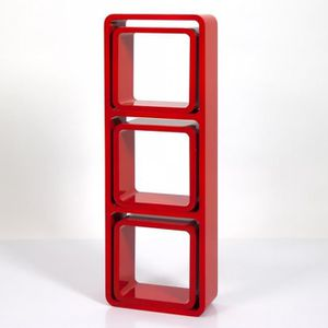 etagere murale cube rouge achat vente etagere murale. Black Bedroom Furniture Sets. Home Design Ideas