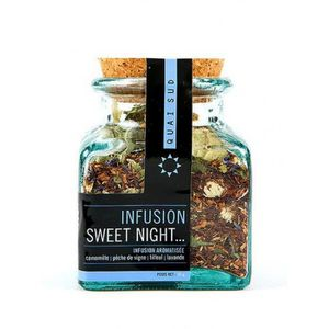 INFUSION Quai Sud - Infusion SWEET NIGHT ! bocal 55g Rose