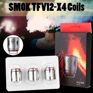 CIGARETTE ÉLECTRONIQUE SMOK 3 Pcs 0.15Ohm Résistance Pour SMOK TFV12 X4 A