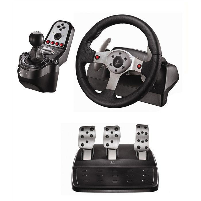logitech g25 racing wheel achat vente volant console logitech g25 racing wheel cdiscount. Black Bedroom Furniture Sets. Home Design Ideas