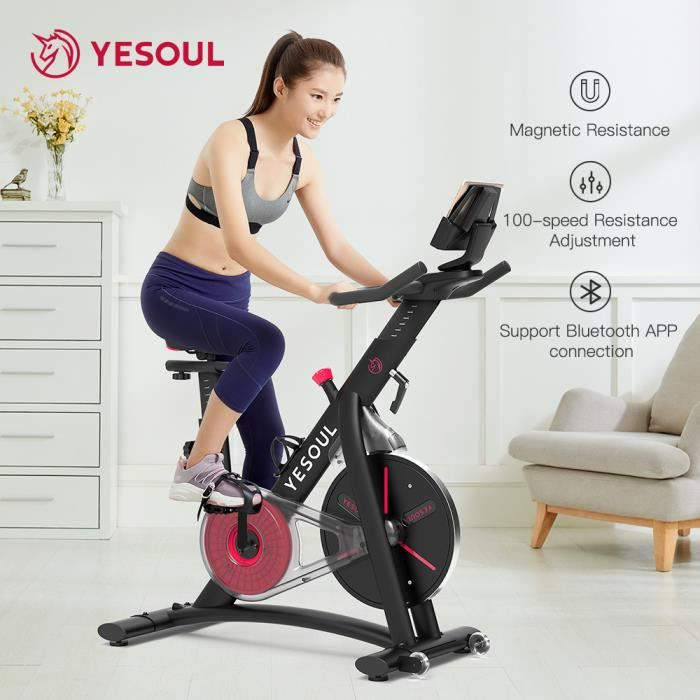 XIAOMI Yesoul S3 Spinning Cycling Bike-Belt Drive Indoor Magnetic Exercise Bike Indoor Stationary Bike Home Cardio Gym Workout