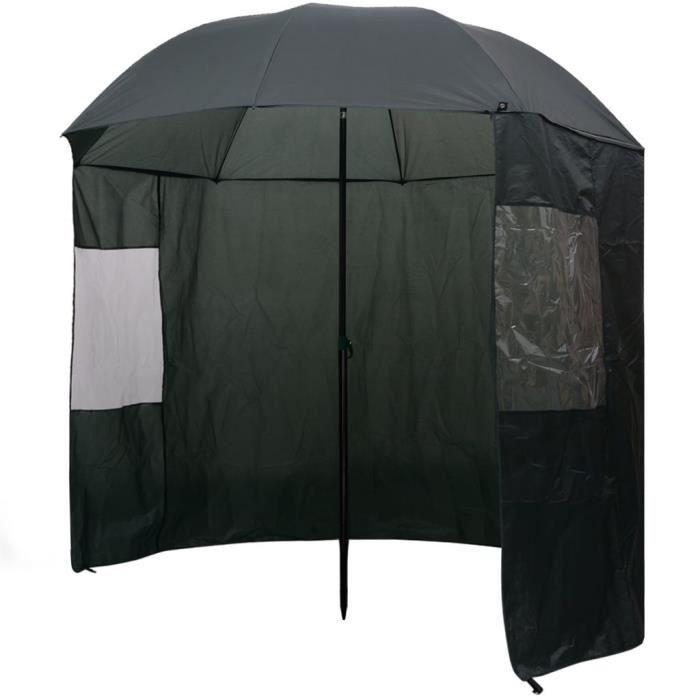 Parapluie de pêche Vert 240x210 cm -GAR