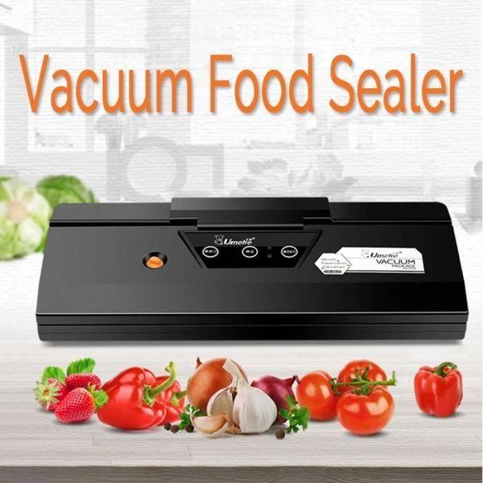 Machine à SOUS VIDE Sceller Emballage Automatique Humide Sec Aliment Conservation PRISE US Ve45029