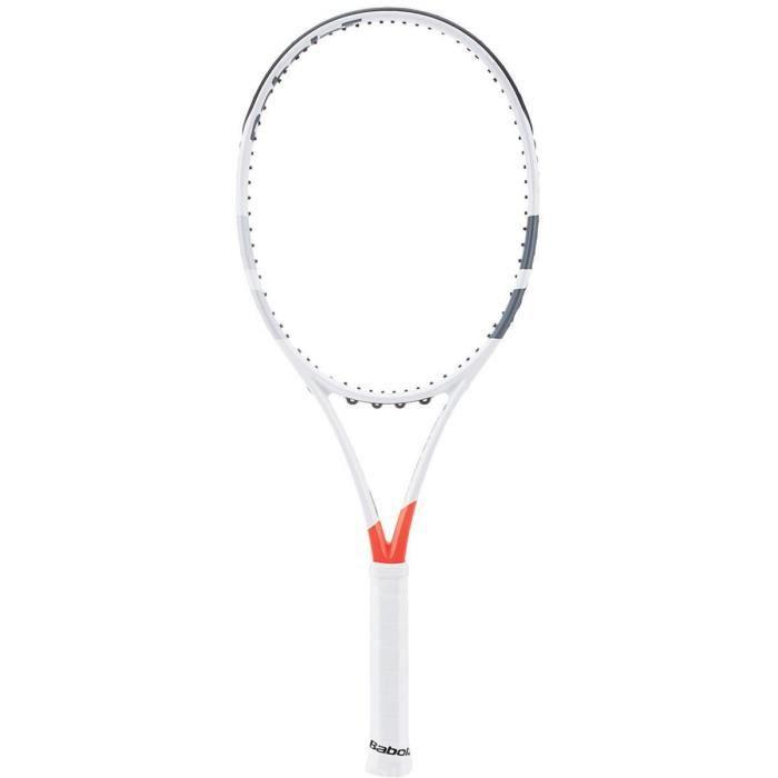 Babolat Pure Strike Team Unstrung Raquettes de Tennis, Homme, Homme, Pure Strike Team Unstrung, Blanc-Rouge