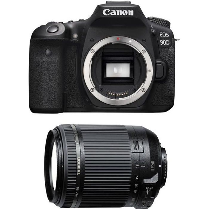 CANON EOS 90D + TAMRON 18-200mm VC Garanti 3 ans
