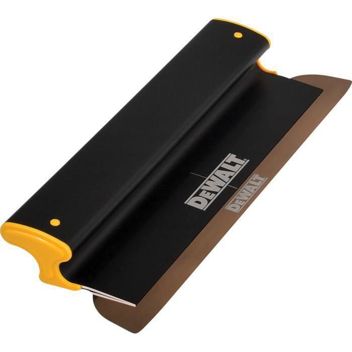 DEWALT Lames Spatule de surface Spatule professionnelle 16 -/ 406 mm avec manche en aluminium oxydé noir